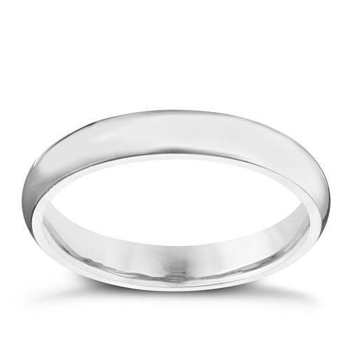 Palladium 950 3mm Extra Heavy Court Ring - Product number 2819031