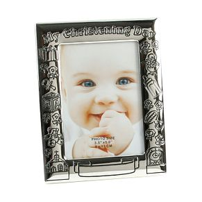 Childhood Memories Silver Plated Christening Day Photo Frame - Product number 2821192