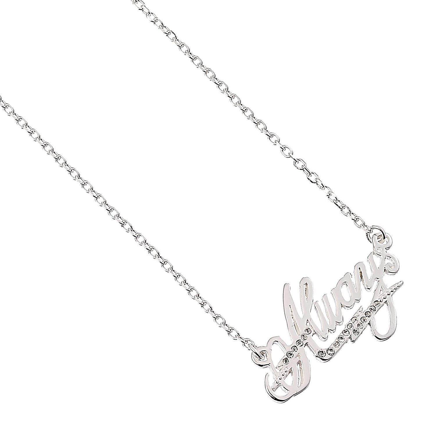 Harry Potter Silver & Crystal Always Necklace - Product number 2822024