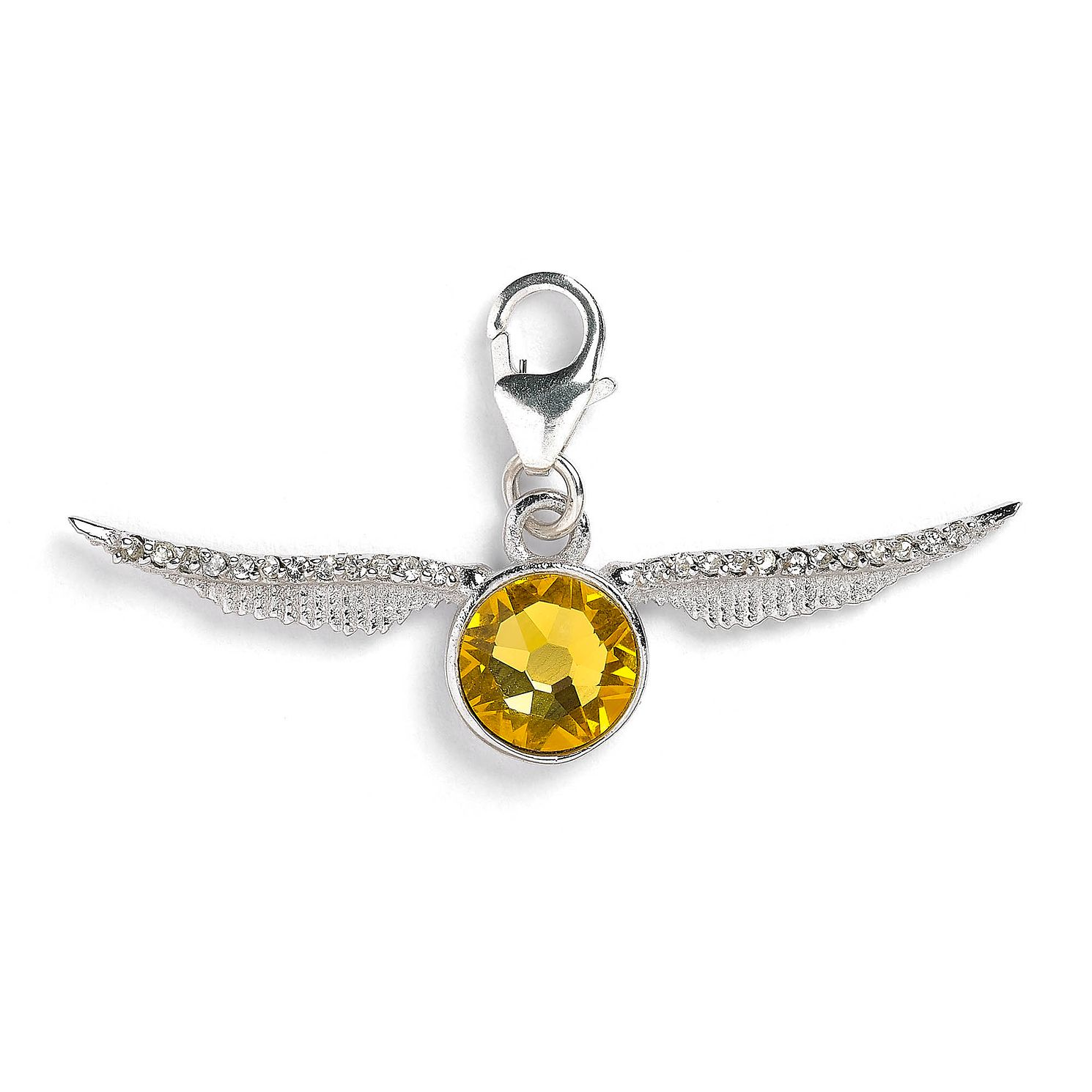 Harry Potter Silver & Crystal Golden Snitch Charm - Product number 2822113