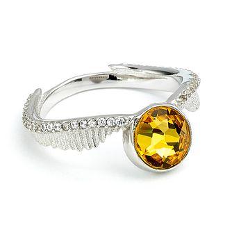 5b35f99d8 Harry Potter Silver & Swarovski Golden Snitch Ring - Medium - Product  number 2822180
