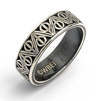 Harry Potter Silver Deathly Hallows Ring - Large - Product number 2822202