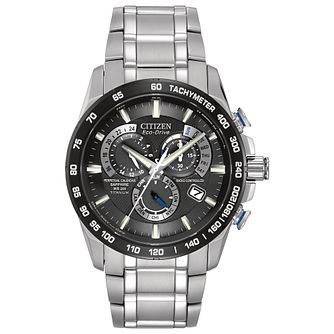 Citizen Eco-Drive Men's Titanium Blue Bracelet Watch - Product number 2829525