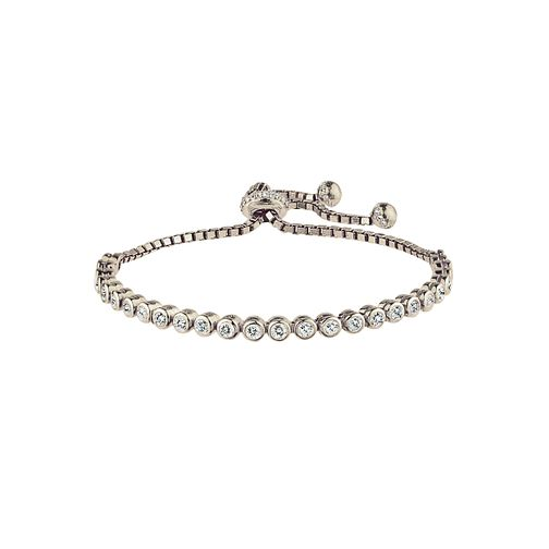 Silver Tennis Adjustable Bracelet - Product number 2830205