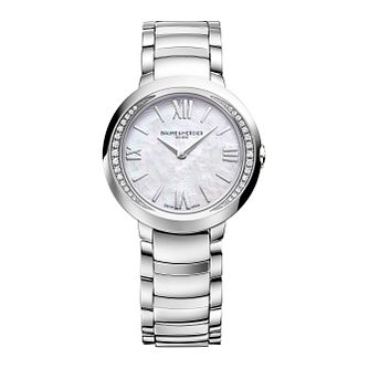 Baume & Mercier Promesse  ladies' diamond bracelet watch - Product number 2832267