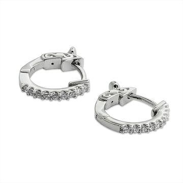 CARAT* LONDON Sterling Silver Hoop Earrings - Product number 2834715
