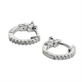 CARAT* LONDON Baby Hoops Sterling Silver Hoop Earrings - Product number 2834715