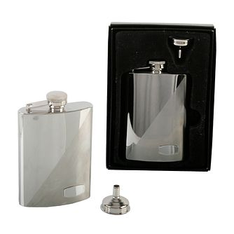 Two tone 6oz Hip Flask - Product number 2836831