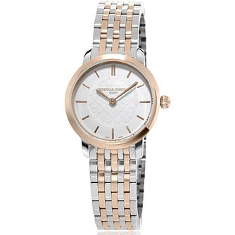 Frederique Constant Slimline Ladies' Two-Tone Bracelet Watch - Product number 2839563