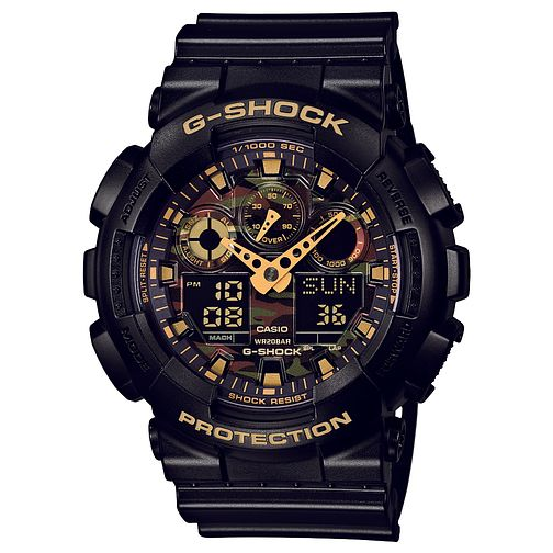 Casio G-Shock Men's Camo Black Resin Strap Watch - Product number 2841266