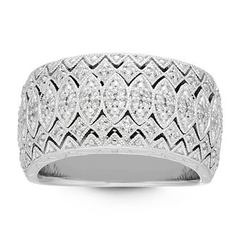 Neil Lane 14ct White Gold 1/4ct Diamond Ring - Product number 2844168