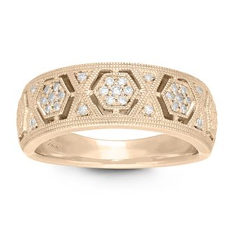 Neil Lane 14ct Yellow Gold 1/10ct Diamond Ring - Product number 2844893