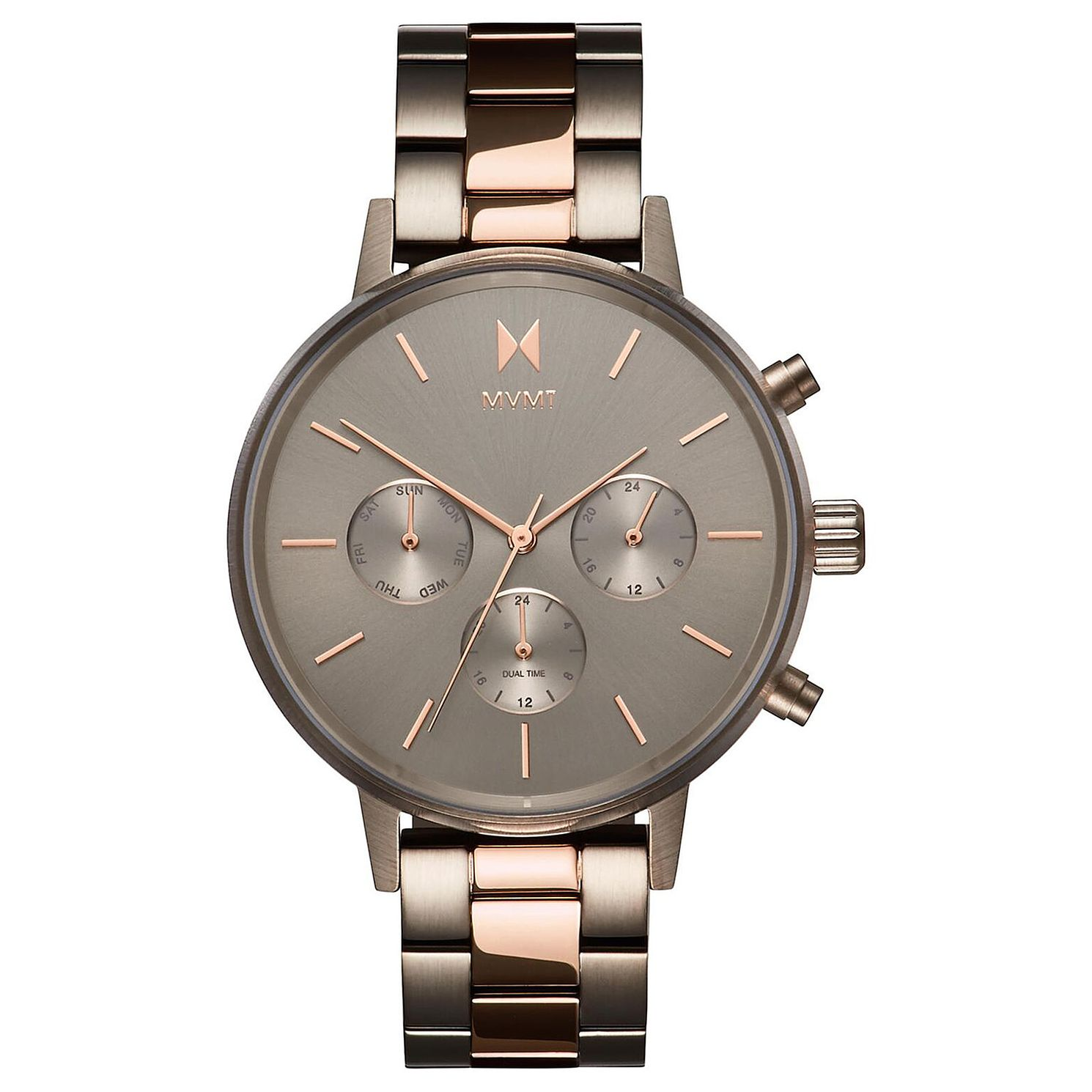 MVMT Nova Ladies' Taupe Ip Bracelet Watch - Product number 2849496
