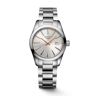 Longines Conquest Classic Stainless Steel Bracelet Watch - Product number 2850028