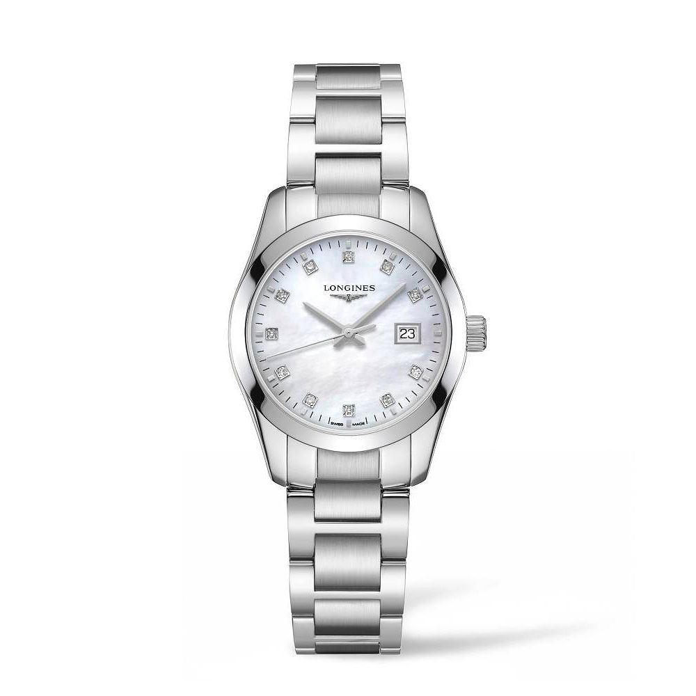 Longines Conquest Classic Stainless Steel Bracelet Watch - Product number 2850036