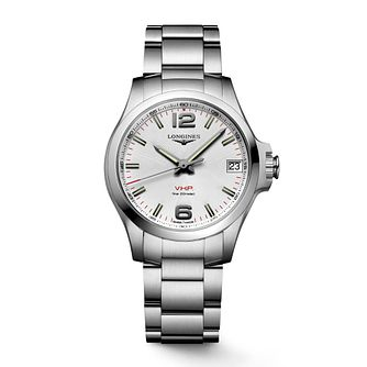 Longines Conquest V.H.P Stainless Steel Bracelet Watch - Product number 2850648