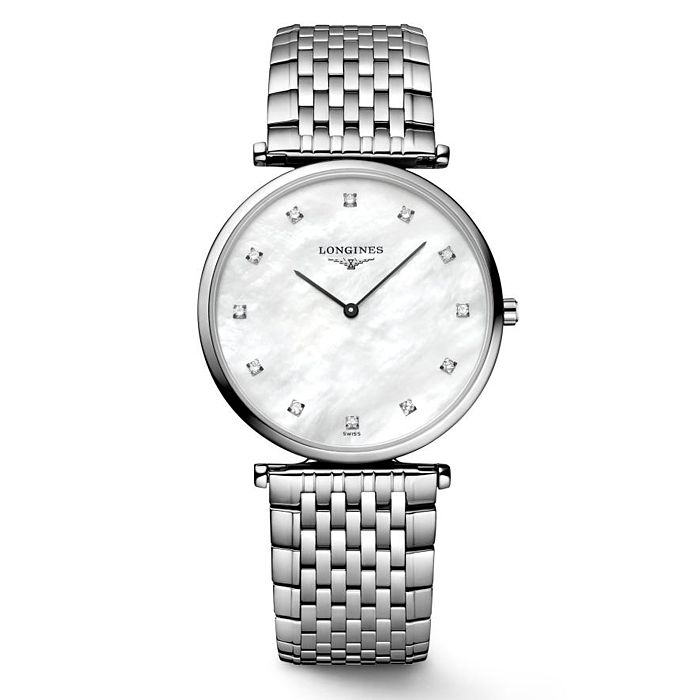 Longines La Grande Classique Diamond Stainless Steel Watch - Product number 2850680