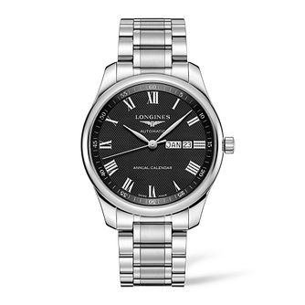 Longines Master Men's Stainless Steel Bracelet Watch - Product number 2850834