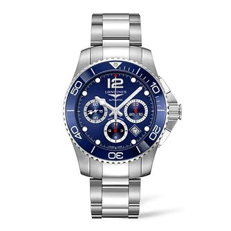 Longines Hydroconquest Men's Stainless Steel Bracelet Watch - Product number 2852462