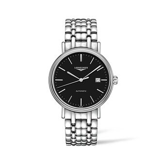 Longines Presence Men's Stainless Steel Bracelet Watch - Product number 2852543