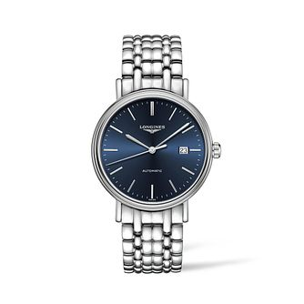 Longines Presence Men's Stainless Steel Bracelet Watch - Product number 2852764