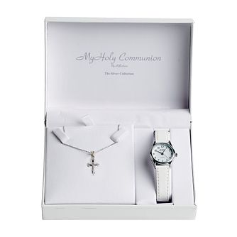 Cailin My Holy Communion Watch & Silver Pendant Set - Product number 2858967