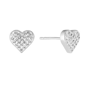 Evoke Silver & Rhodium Swarovski Elements Earrings - Product number 2864177