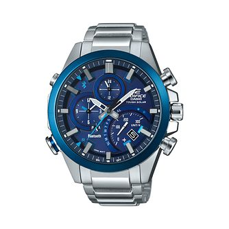 Casio Edifice Bluetooth Stainless Steel Bracelet Watch - Product number 2871262