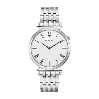 Bulova Classic Regatta Men's Stainless Steel Bracelet Watch - Product number 2871718