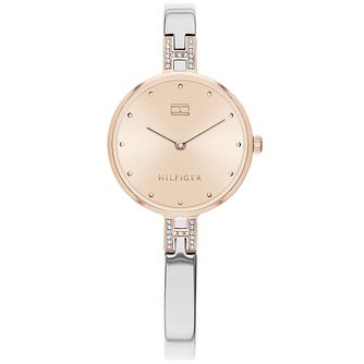 Tommy Hilfiger Ladies' Two Tone Bangle Watch - Product number 2873044