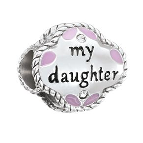 Chamilia Banner Heart Daughter Charm - Product number 5845637