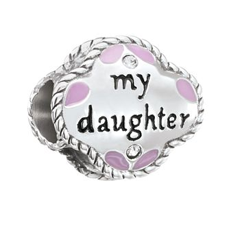 Chamilia My Daughter My Friend Charm with Swarovski Crystal - Product number 2873699