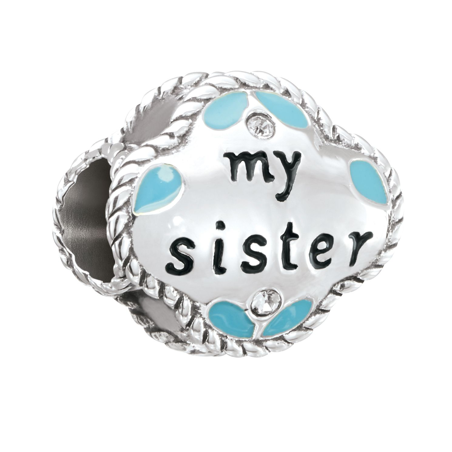 Chamilia My Sister My Friend Charm with Swarovski Crystal - Product number 2873710