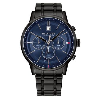 Tommy Hilfiger Men's Black IP Bracelet Watch - Product number 2873990
