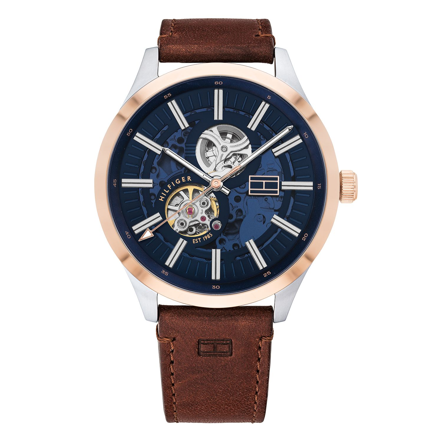 Tommy Hilfiger Spencer Brown Leather Strap Watch - Product number 2874059