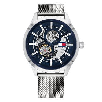 Tommy Hilfiger Stainless Steel Mesh Bracelet Watch - Product number 2874067