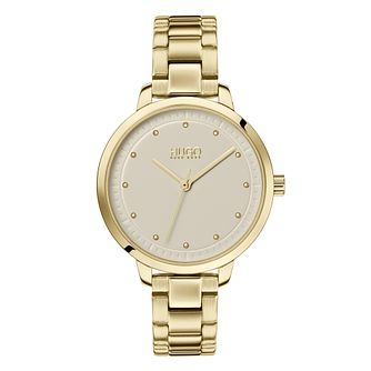 HUGO ACHIEVE Ladies' Gold Tone IP Bracelet Watch - Product number 2874873