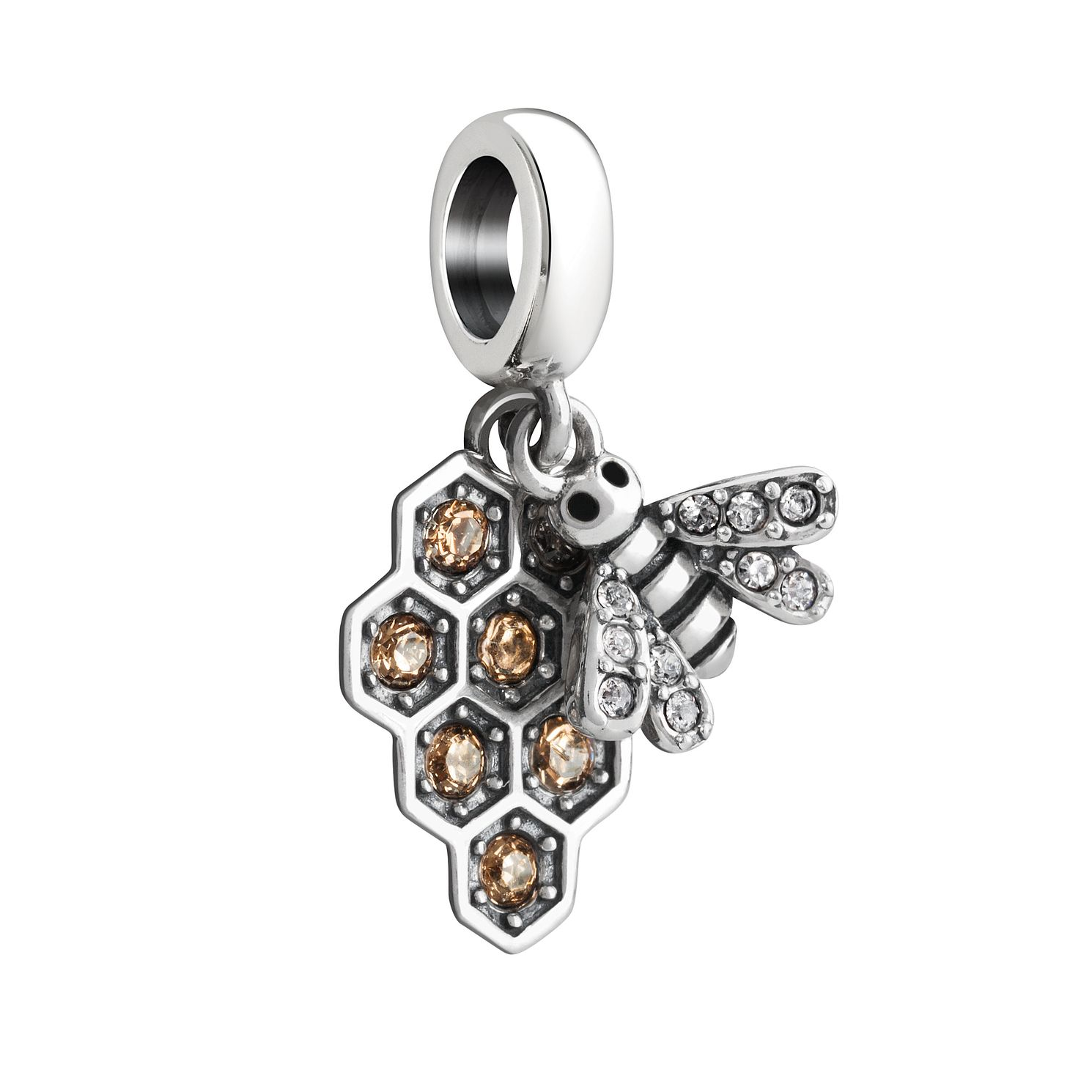 Chamilia Silver & Swarosvki Crystal My Honeybee Charm - Product number 2876302
