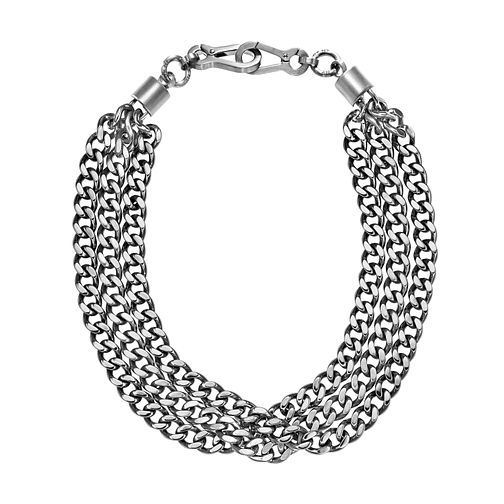 1340a9057b7 DKNY Chamber Stainless Steel Statement Chain Necklace - Product number  2876787