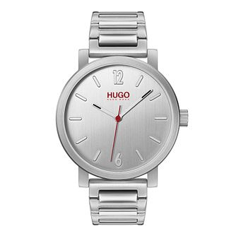HUGO RASE Men's Stainless Steel Bracelet Watch - Product number 2877023