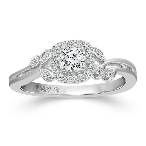 Emmy London 18ct White Gold 1/3ct Diamond Ring - Product number 2885913