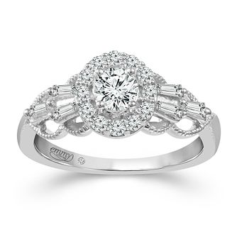 Emmy London 18ct White Gold 0.66ct Total Diamond Ring - Product number 2886596