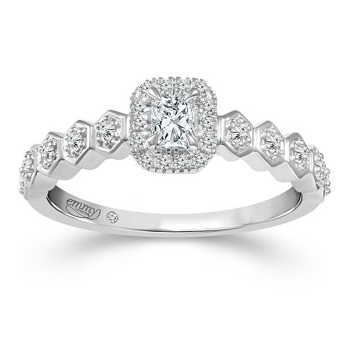 Emmy London 18ct White Gold 1/3ct Diamond Ring - Product number 2887444