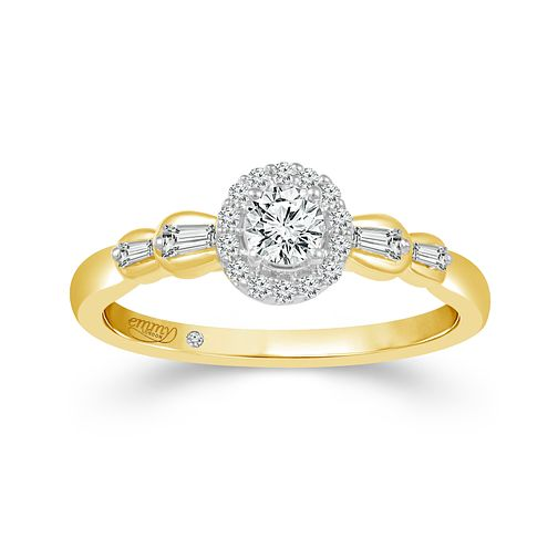 Emmy London 9ct Yellow Gold 1/3ct Diamond Ring - Product number 2887835