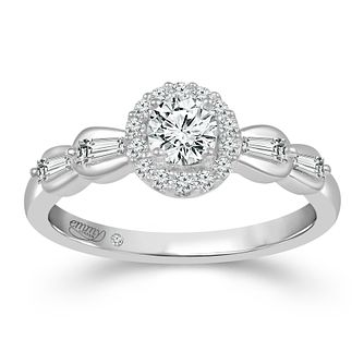 Emmy London 9ct White Gold 1/2ct Diamond Ring - Product number 2887967