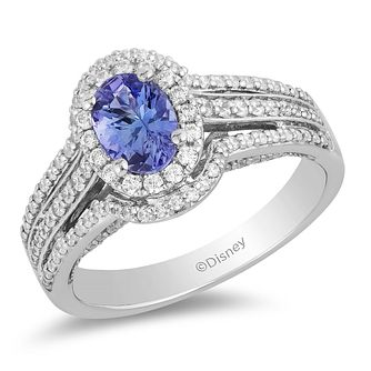 Enchanted Disney Fine Jewelry Diamond Tanzanite Ariel Ring - Product number 2888777