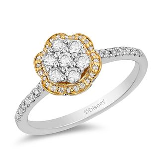 Enchanted Disney Fine Jewelry Diamond Belle Ring - Product number 2889927