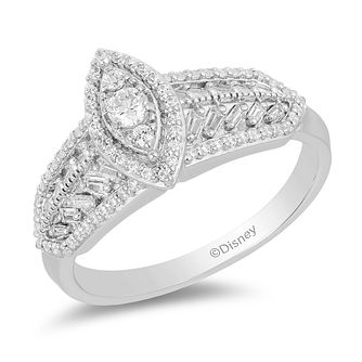 Enchanted Disney Fine Jewelry Diamond Pocahontas Ring - Product number 2891174