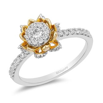 Enchanted Disney Fine Jewelry Diamond Tiana Ring - Product number 2891301