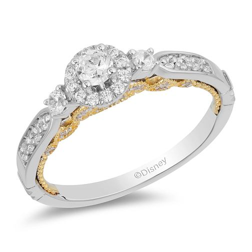 Enchanted Disney Fine Jewelry Diamond Jasmine Ring - Product number 2891433